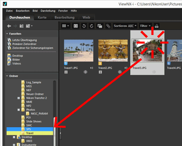 Datei Oder Ordner Verschiebenkopierenduplizieren Viewnx I Hilfe