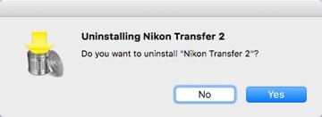 Uninstalling Nikon Transfer 2 | ViewNX-i Help | Nikon