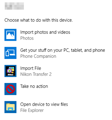 Disabling automatic launch of nikon transfer 2 (windows 10.