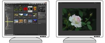ansluta dubbla bildskärmar Windows 7