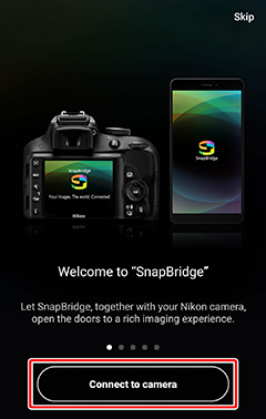 Bluetooth Pairing | SnapBridge Help | Nikon