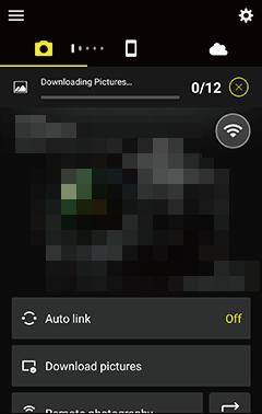 Downloading Selected Pictures   SnapBridge Help   Nikon